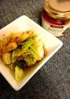 ハリッサde鶏ハム白菜焼き