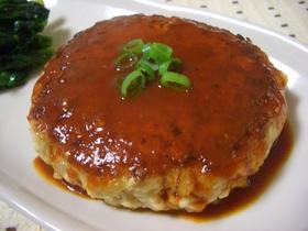 豆腐ハンバーグ♪コチュジャンソース