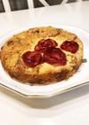林檎の花咲く紅茶のクランブルケーキ
