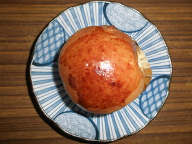 生チーズのパン