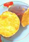 低脂質☆レンジで簡単!蒸かしさつまいも