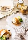 ピーナッツハニーの豆乳レアチーズケーキ