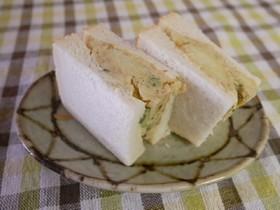 ふじっ子煮×パン、パンつくポテサラサンド