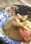 柿のヨーグルトサラダ