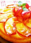 スキレットで作る☆りんごのパンケーキ