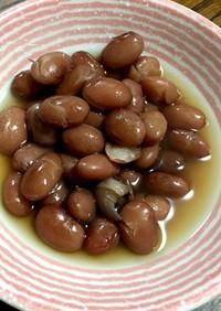金時豆の甘煮(圧力鍋使用)