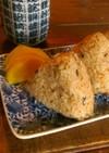 秋刀魚の塩焼きでポン酢おにぎり!お弁当に