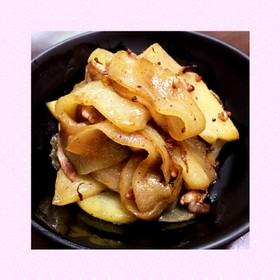 ハヤトウリの炒め物(豚肉バージョン)