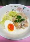 今日の夕飯 白菜と鶏肉のミルク煮