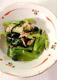 低糖質 無限小松菜