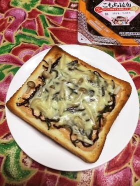 明太マヨふじっ子トースト