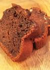 バレンタインに♡濃厚チョコバナナケーキ