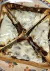 「ふじっ子煮」厚切りトースト