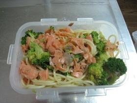 あっさり簡単♪鮭のスパゲティ