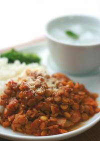 レンズ豆のほくほくカレー