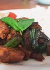 タイ風 豚とインゲン豆バジル炒め 海外