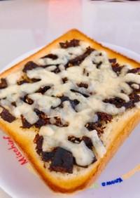 昆布チーズトースト