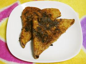 ふじっ子煮のフレンチトースト