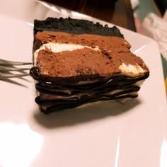 …オレオチョコチーズケーキ…簡単