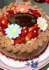 デコレーションケーキ 例