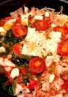 鍋の素不使用!簡単時短ずぼらトマト鍋