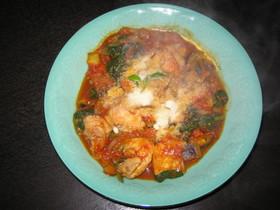 鍋1つでできる!栄養満点チキンのトマト煮