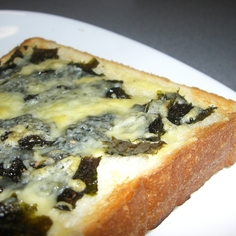 くせになる味!のりチーズトースト