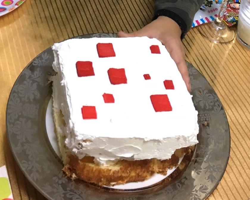 マインクラフト ケーキ