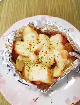 簡単♡鮭フレークじゃか芋チーズ焼き♪