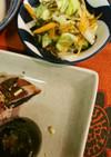 キャベツと大根のサラダ
