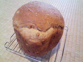 プルーンとくるみのもちもち食パン♪