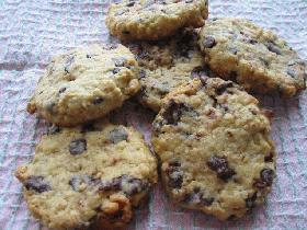 オートミール◆チョコチップクッキー