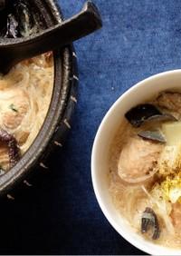 ピェンロー鍋風 食べる豆乳スープ