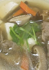 牛すじと干し椎茸のスープ