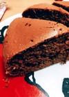 炊飯器で簡単 チョコケーキ