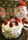 フライパンで!HMのいちごショートケーキ