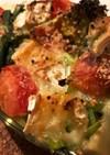 野菜のモッツァレラオーブン焼き