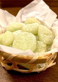 和三盆でつくる 優しい柚子餅