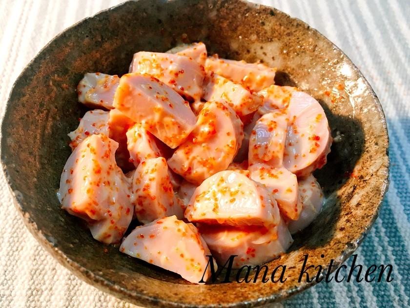 【簡単】魚肉ソーセージのピリ辛おつまみ♡