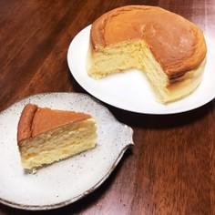 糖質制限 ふわふわスフレチーズケーキ☆