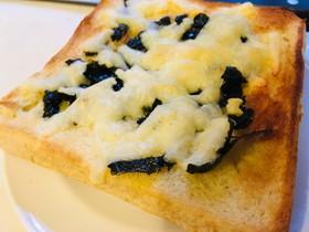 悪魔の★海苔チーズトースト