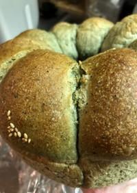 ふわふわよもぎちぎりパン