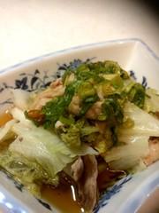 ☆白菜と豚肉のネギだれ☆フライパン蒸しの写真