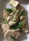 簡単☆鶏胸肉と焼き豆腐の和風麻婆