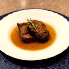 ラム肉のオーブン焼 ローズマリー風味