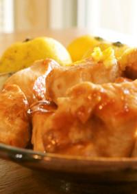 鶏むね肉の簡単照り焼き/柚子わさび味