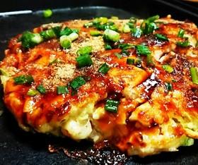豆腐で ふわふわ 低カロリー お好み焼き