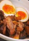 圧力鍋で豚軟骨と卵の煮物  パイカ煮込み