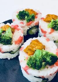 セルクルで押し寿司