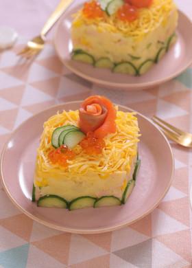 かわいい♪ひな祭りポテトサラダ